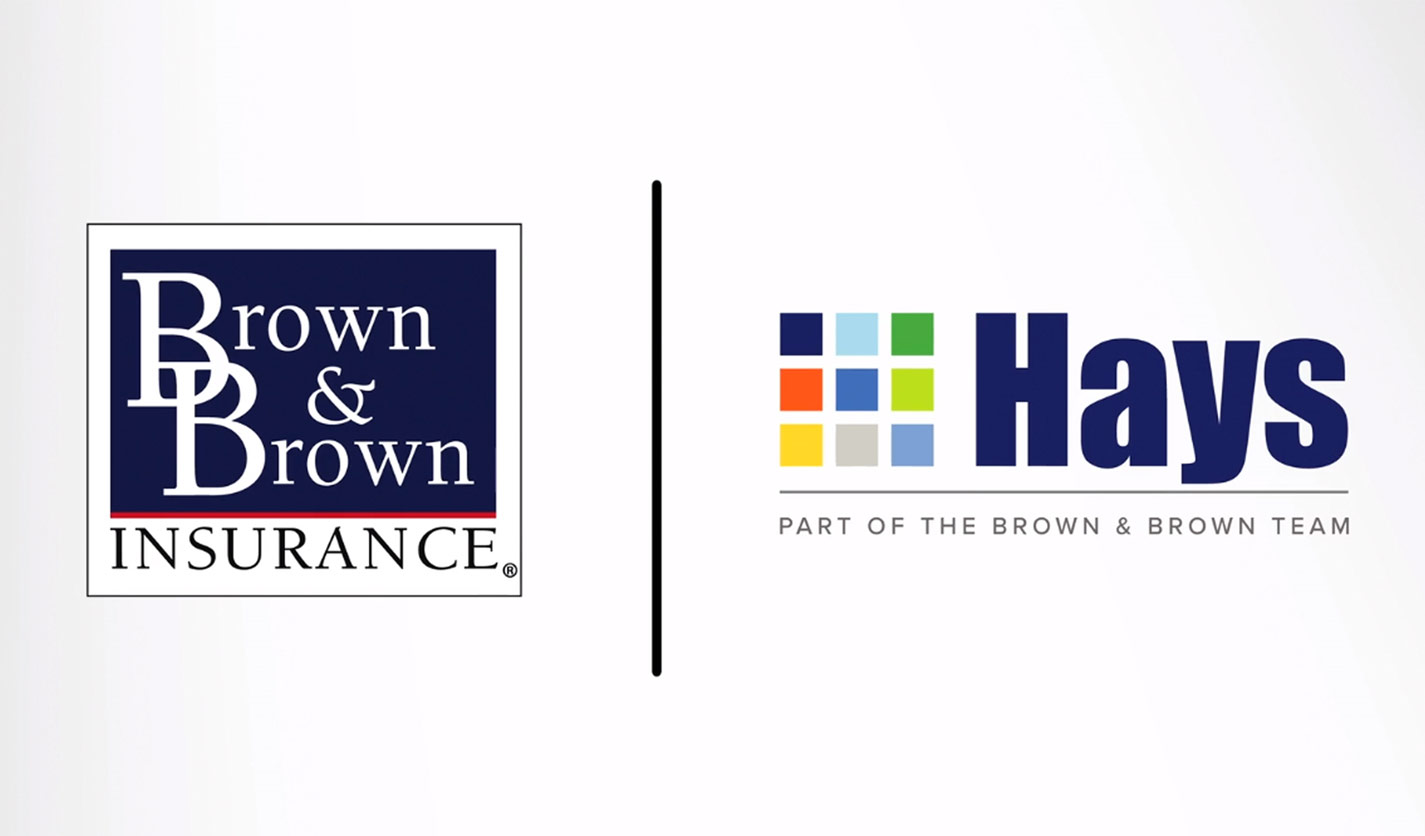 Brown & Brown and Hays Companies logos